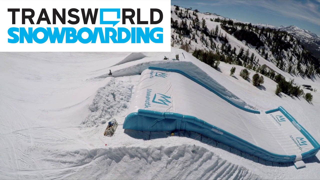 Progression Airbags featured on transworld snowboarding